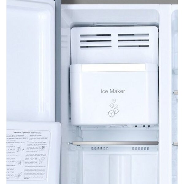 Haier - HRF-630AM7 - Side-by-Side - Silber - A++ - NoFrost