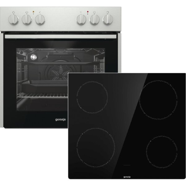 Gorenje - Red Pepper K5 - Herd Set - BC715E10XK + ECD641BSC